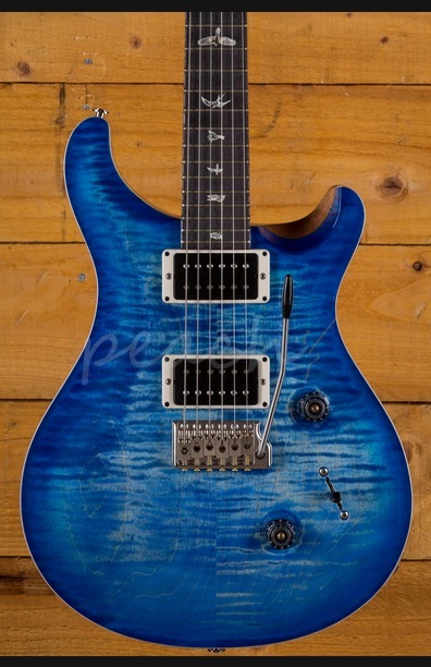 PRS Custom 24 Custom Colour Faded Aqua Denim Burst