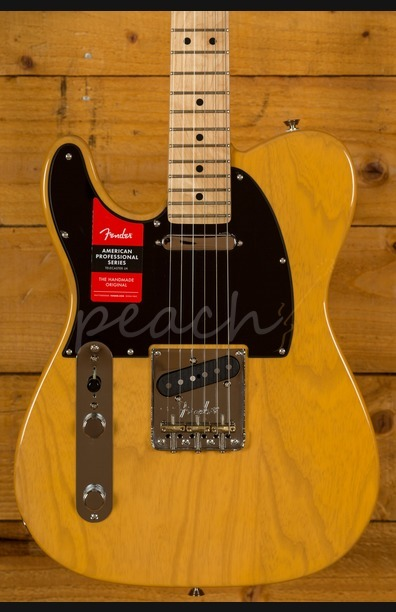 Fender American Pro Tele Maple Neck Butterscotch Blonde Left Handed