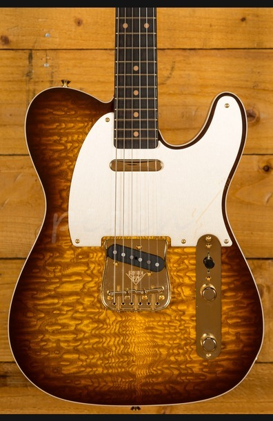 Fender Custom Shop Artisan Tele - Roasted Ash with Tamo Ash Top & Back