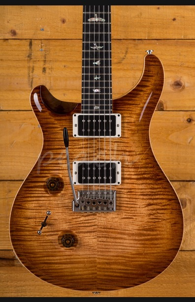 PRS Custom 24 10 top Flame Maple Neck Left handed Used