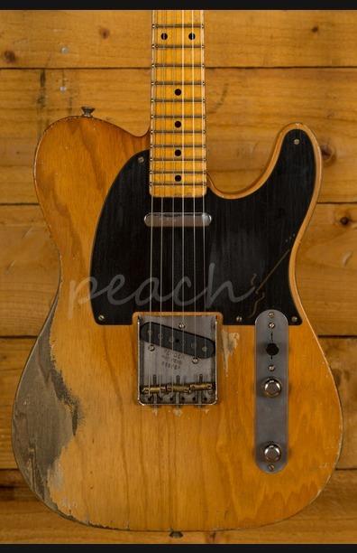 Fender Custom Shop Dale Wilson Masterbuilt 52 Tele Relic Aged Natural
