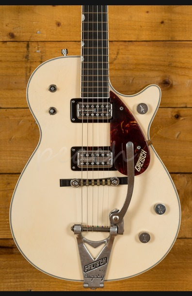 Gretsch Masterbuilt G6128T-59 Duo Jet Aged White Relic