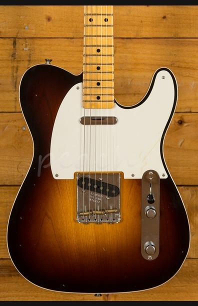 Fender Custom Shop 50 Tele Journeyman Relic Maple Faded 2TSB