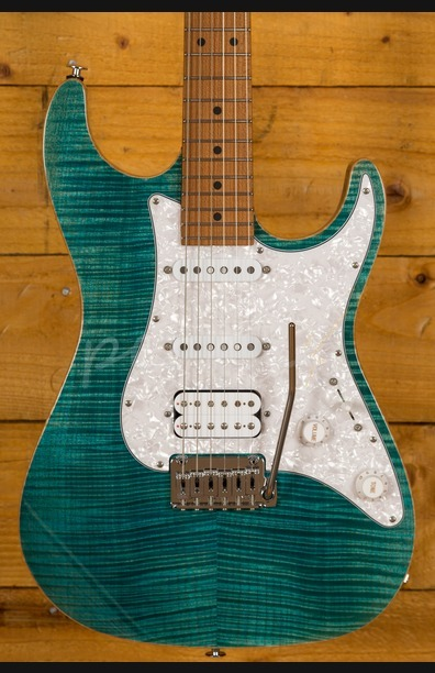 Suhr Standard Plus Bahama Blue Maple