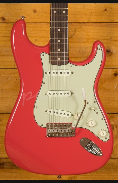 Fender Custom Shop 59 Strat NOS RW Faded Fiesta Red