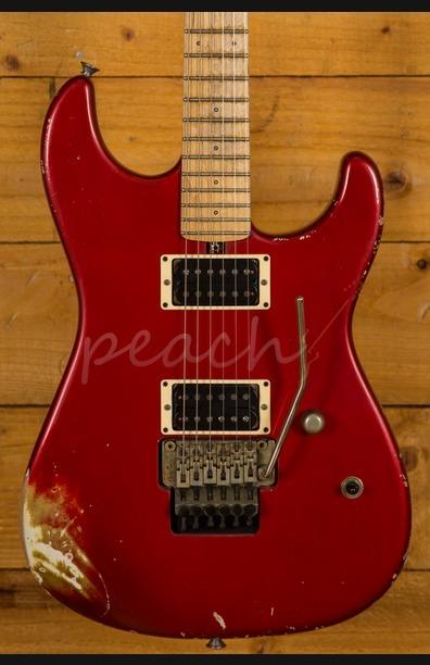 Friedman Cali Guitar Candy Apple Red HH