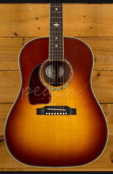 Gibson 2019 J-45 Deluxe Rosewood Burst Left Handed