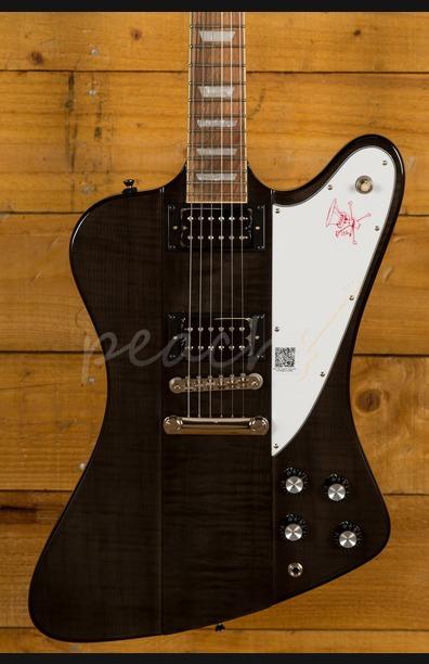Epiphone Limited Edition Slash Firebird Translucent Black