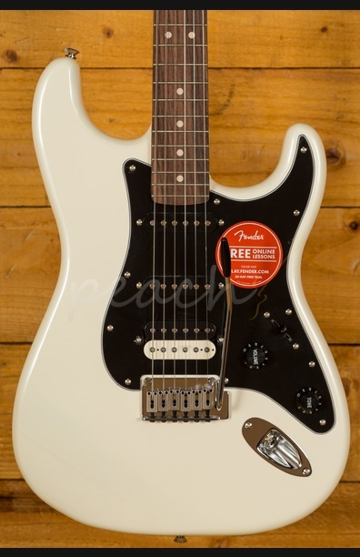 Squier Contemporary Stratocaster HSS Pearl White
