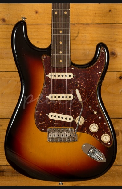 Fender Custom Shop 59 Journeyman Relic Strat 3 Tone Sunburst