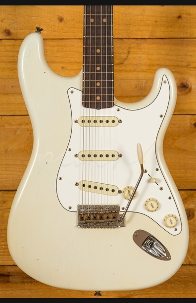 Fender Custom Shop 1964 Journeyman Relic Strat Aged Olympic White