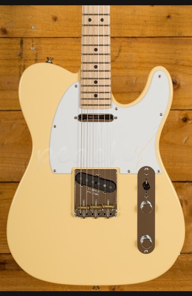 Fender American Performer Tele Maple Neck Vintage White