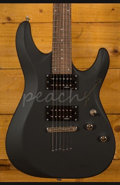 Schecter C-6 Deluxe Satin Black