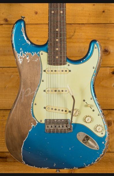 Xotic California Classic XSC-1 Lake Placid Blue Super Heavy Aged