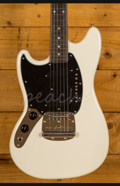 Fender Japan Traditional 60's Mustang Vintage White Left Handed
