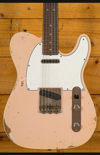 Fender Custom Shop 60s Tele Custom Relic Faded/Aged Shell Pink