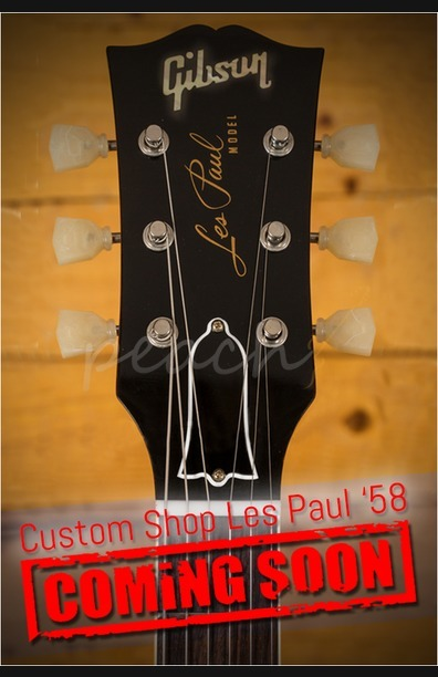 Gibson Custom '58 Les Paul Ltd Run Iced Tea Gloss